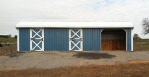 Outside Barn